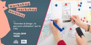 "Workshop ""Design&Data"" by the CNIL"