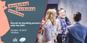 Workshop Recruit its #Founding Partners with the Apec