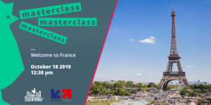 Masterclass Welcome to France with @Business France
