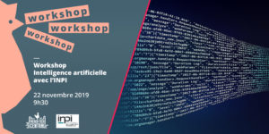 Workshop Artificial intelligence by INPI