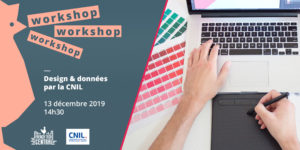 Workshop Design & Data by CNIL