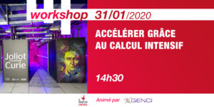 Workshop Accelerate with data-intensive computing @GENCI