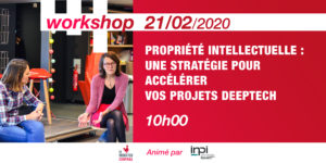Workshop Intellectual property: a strategy to accelerate your startup
