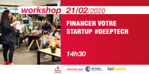 [Workshop] Funding #DeepTech @Bpifrance & @CCI Paris
